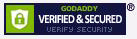 Godaddy Verified & Secured Seal-b-SP